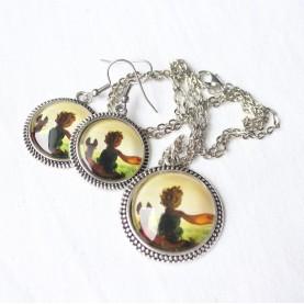 Sada náušnice a náhrdelník - Malý princ