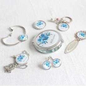 Darčeková sada - Milovaná modrý kvet