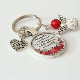 Kľúčenka - Milá babka, mám ťa rád