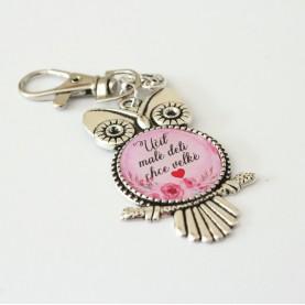 Kľúčenka- Učiť malé deti chce veľké srdce
