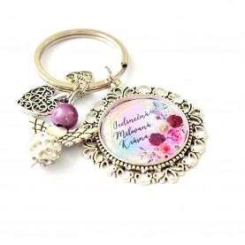 Kľúčenka - Jedinečná, milovaná, krásna