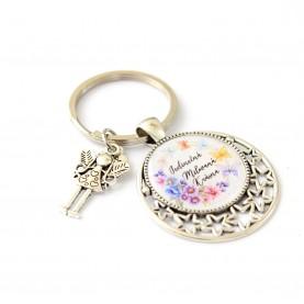 Kľúčenka - Jedinečná, milovaná, krásna 2